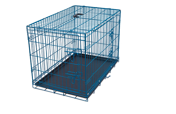 Metal cage for animals