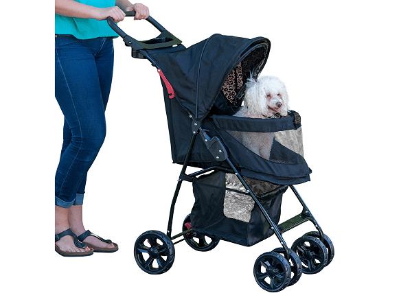 Foldable dog stroller