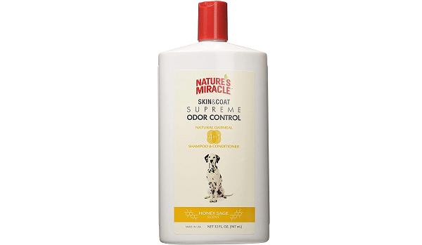 100% natural dog shampoo