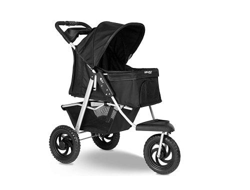 Top of the range 3-wheeler stroller for large dogs