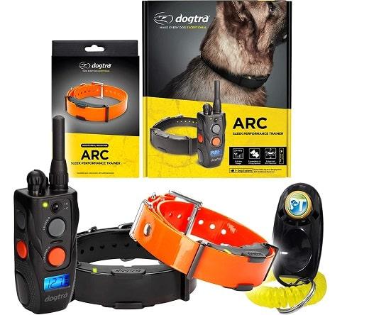 The Dogtra ARC 800 training collar