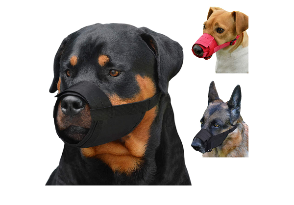 Dog nylon muzzle