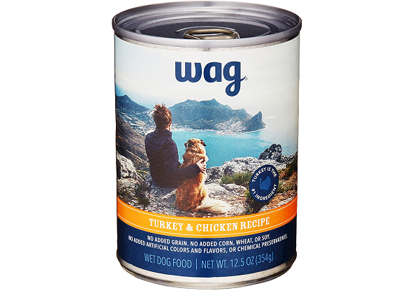 Amazon Turkey and Vegetable wet food for Dogs