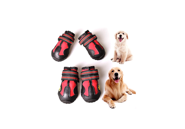 Breathable boots for dogs