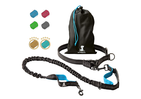 Canicross leash for large dogs