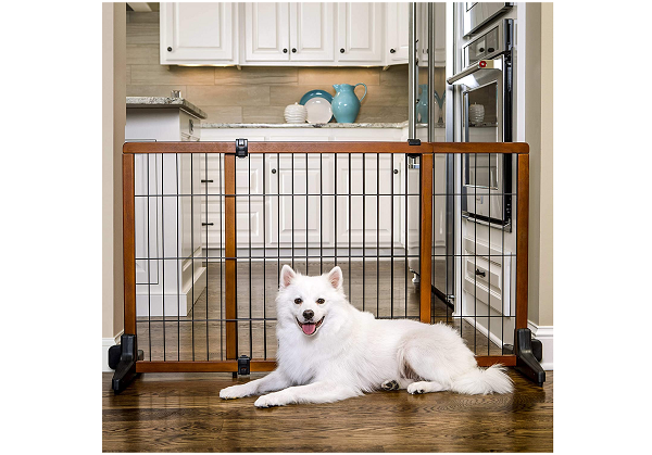 Safety gate for puppies and small dogs