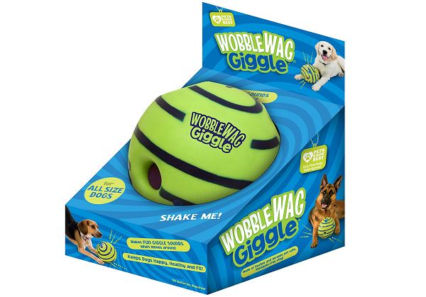 Sound ball for dogs