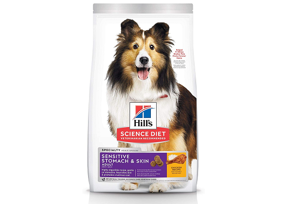 Hills dry food for sensitive stomach