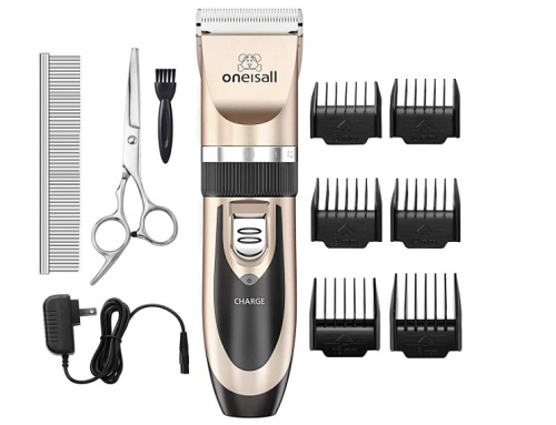 Dog clipper and shaver kit